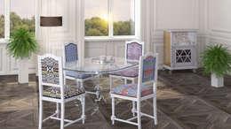 LE_COMARI: Столовая комната в . Автор – 3D_DESIGNER_ALLA