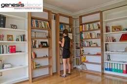 modern Study/office by GenesisDecor