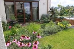 Taras na dachu: styl , w kategorii Ogród zaprojektowany przez GREENERIA