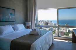 Спальни в . Автор – House in Rio