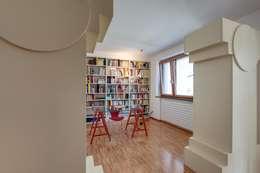 Рабочие кабинеты в . Автор – ABC+ME Studio di Architettura