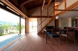Phòng ăn by AMI ENVIRONMENT DESIGN/アミ環境デザイン