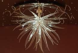 Event venues by Neil Wilkin Bespoke chandeliers & Glass Sculpture