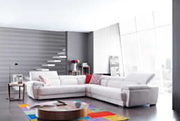 modern Living room by Trabcelona Design