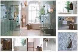 Échelle Akwàndawe: Salle de bain de style de style Moderne par Pür cachet