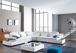 Trabcelona Design – valensia corner: modern tarz Oturma Odası