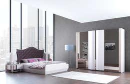 Trabcelona Design – ottoman yatak odası : modern tarz Yatak Odası