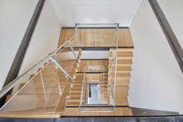 trappenhuis:   door Architectenbureau Prent BV