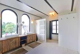 badkamer:   door Architectenbureau Prent BV