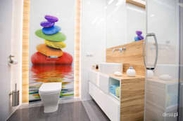 Mieszkanie zaprojektowane pod wynajem: styl , w kategorii Łazienka zaprojektowany przez Dessi