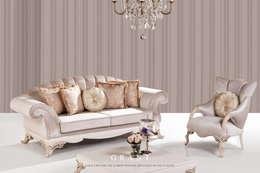 Trabcelona Design – Grant koltuk : iskandinav tarz tarz Oturma Odası