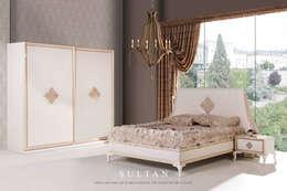 Trabcelona Design – Sultan yatak odası : modern tarz Yatak Odası