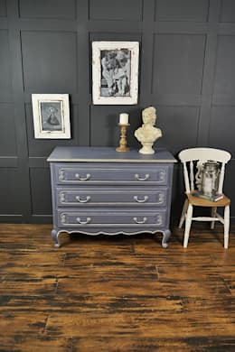 غرفة نوم تنفيذ The Treasure Trove Shabby Chic & Vintage Furniture