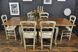 غرفة السفرة تنفيذ The Treasure Trove Shabby Chic & Vintage Furniture