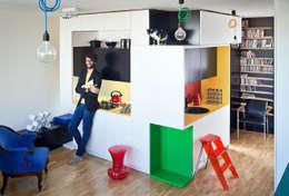 New Fifties: styl , w kategorii Kuchnia zaprojektowany przez kacper gronkiewicz architekt