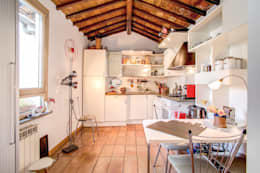 SUBURRA : Cucina in stile in stile Moderno di MOB ARCHITECTS