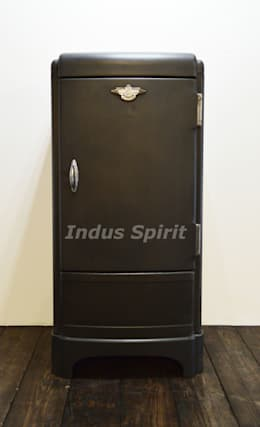 Frigo Frigidaire: Salon de style de style Industriel par Indus Spirit
