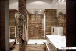 LOFT z widokiem: styl , w kategorii Łazienka zaprojektowany przez Borowczyk Architekci