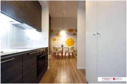 DVUPAK - loft VIVID: styl , w kategorii Kuchnia zaprojektowany przez Borowczyk Architekci