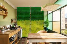 Puertas y ventanas de estilo moderno por Bilderwelten
