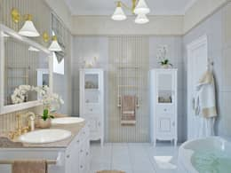 Студия дизайна Interior Design IDEAS의  화장실