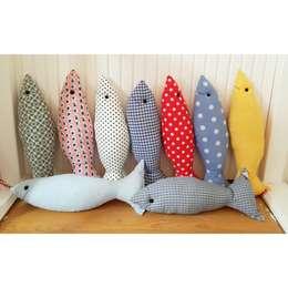 Sesiber – Kumaş Balıklar: akdeniz tarzı tarz Çocuk Odası