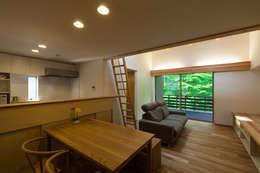 scandinavian Living room by 光風舎1級建築士事務所