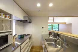 ห้องครัว by 光風舎1級建築士事務所
