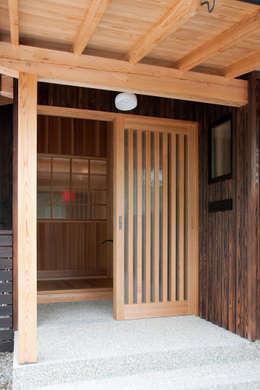 エコ・レトロの家: 大森建築設計室が手掛けた窓です。