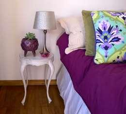 CAPITONE: Paisajismo de interiores de estilo  por CURADORAS
