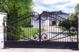Realizacja ogrodzenia 15: styl , w kategorii Ogród zaprojektowany przez Armet