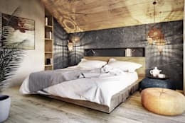 modern Bedroom by razoo-architekci