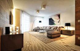 Pavimento 3d: Pareti in stile  di Tech & Graphic Project