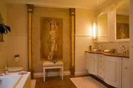 country Bathroom by Beinder Schreinerei & Wohndesign GmbH