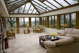 Franklin Windows: klasik tarz tarz Kış Bahçesi