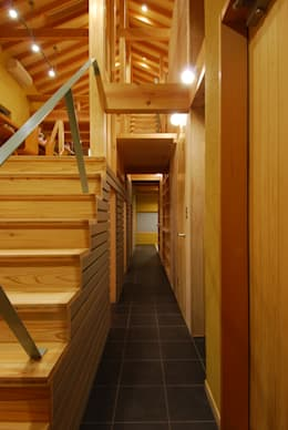 Koridor dan lorong by 豊田空間デザイン室 一級建築士事務所