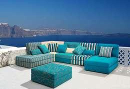 modern Living room by MUEBLES HELY