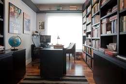 Projekty,  Domowe biuro i gabinet zaprojektowane przez Pereira Reade Interiores
