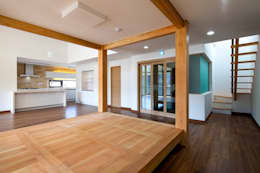 SONGCHU MAPLE HOUSE : IDEA5   ARCHITECTS의  거실