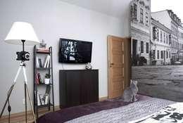 FotoLampa DRUH FLOOR: styl , w kategorii Sypialnia zaprojektowany przez RefreszDizajn