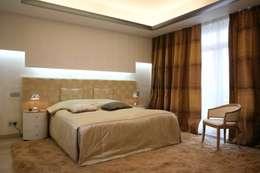 modern Bedroom by Архитектурное бюро Лены Гординой