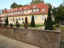 Innenhof:  Hotels von Pfrommer + Roeder