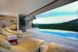 Glas-Faltwand SF 75, Projekt Hawaii:  Terrasse von SUNFLEX Aluminiumsysteme GmbH