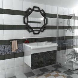Dekoset Çelik Kapı Mobilya San Tic Ltd Şti. – lüks banyo dolabı: modern tarz Banyo