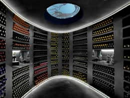 mediterranean Wine cellar by jecasar