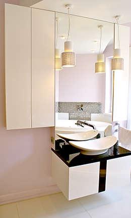 Scarabeo Waschtisch: moderne Badezimmer von ks-raumgestaltung