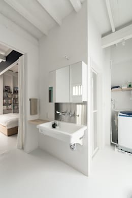 Phòng tắm by coil松村一輝建設計事務所