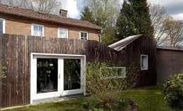 uitbreiding woonhuis Maarn: moderne Huizen door Richel Lubbers Architecten