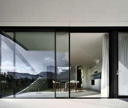 Окна в . Автор – Peter Pichler Architecture