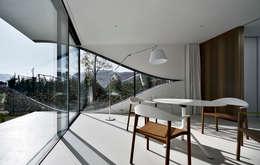 Esszimmer Einrichtung Kunst Minimalismus Style - Wohndesign -